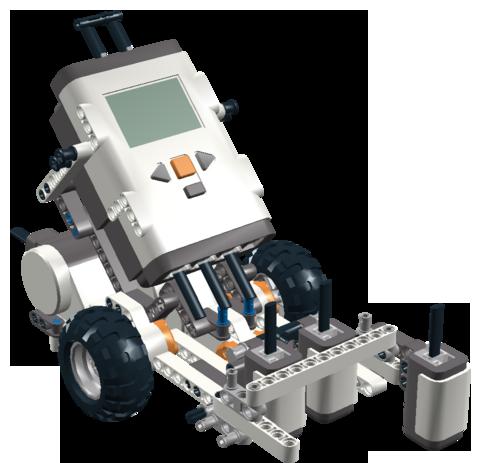 LegoMindstormsRobot for solving Sokoban Puzzles
